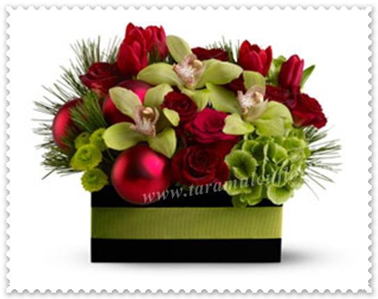 Aranjamente florale de iarna.039